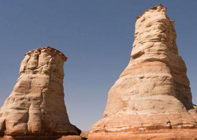 Rocky pillar formation